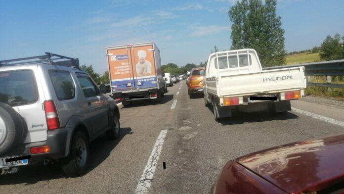 Tangenziale Siena-ovest, 5 auto coinvolte in un incidente