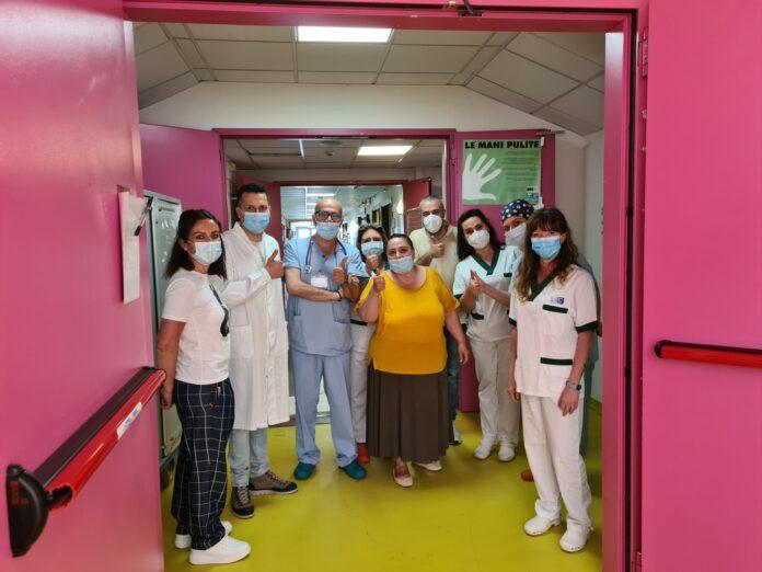 Ospedale di Abbadia San Salvatore, il reparto di cure intermedie Covid chiude i battenti