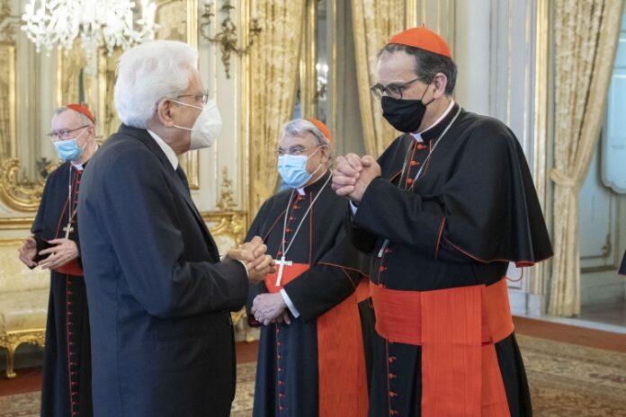 Il Cardinale Lojudice dal Presidente della Repubblica Sergio Mattarella