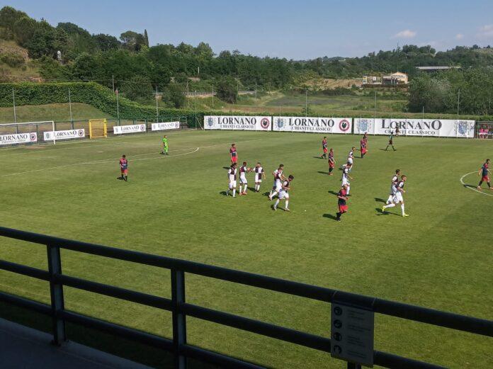 Non c'è partita tra Siena e Sinalunghese, i bianconeri vincono 5-0