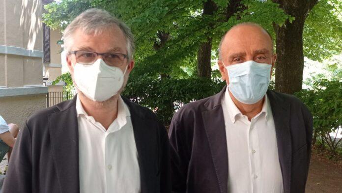 L'assessore regionale alla Sanità Bezzini in visita all'ospedale di Abbadia San Salvatore