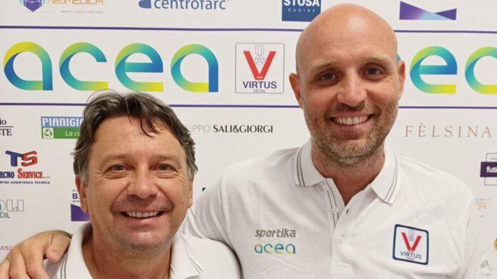 Virtus, per le giovanili arriva coach Filippo Franceschini