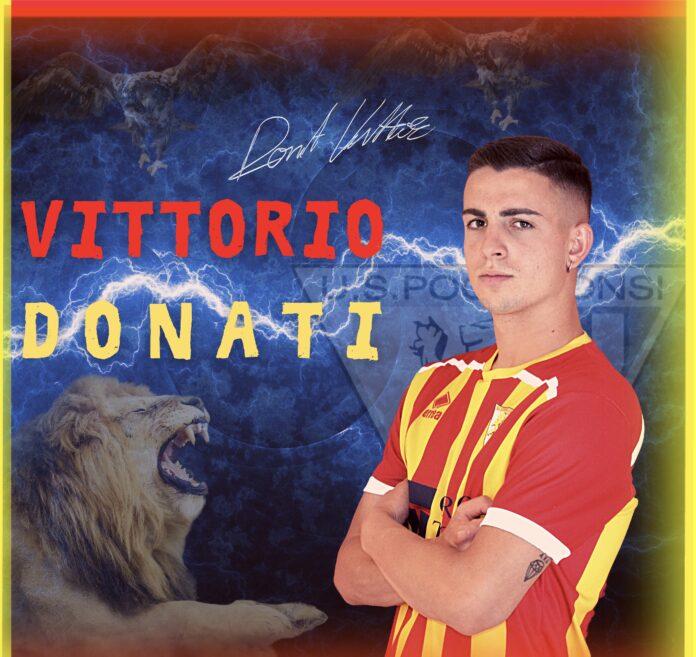 Vittorio Donati nuovo calciatore del Poggibonsi