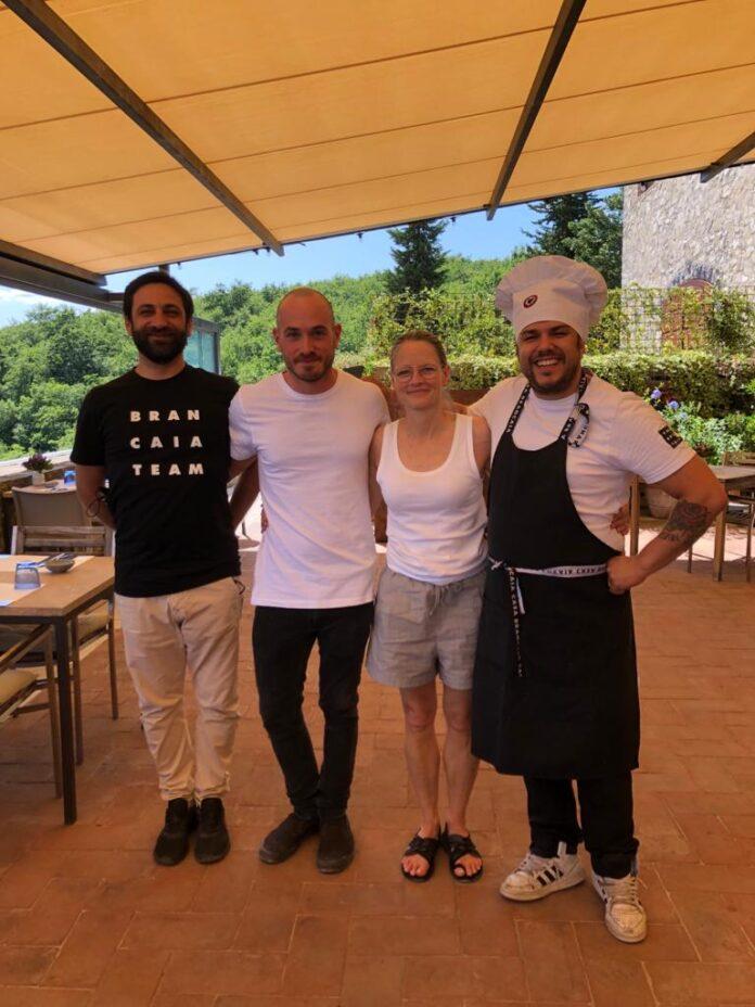 Jodie Foster, vacanze in terra di Siena