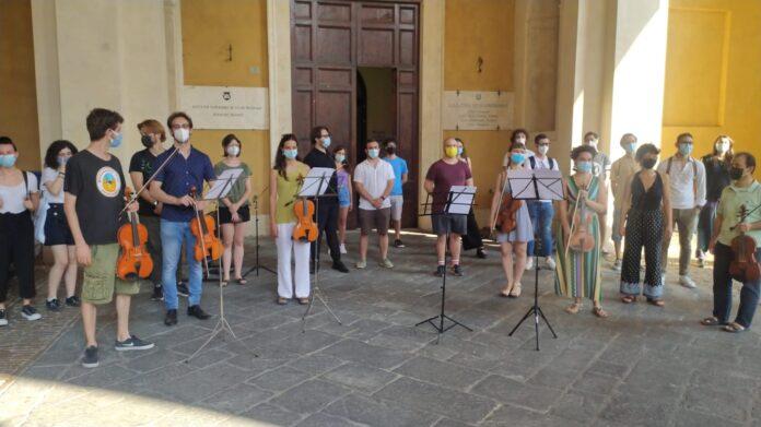 Maratona musicale degli studenti del Franci contro la revoca dei locali del conservatorio