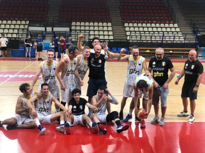 Siena sul tetto d'Italia: la GHN Balzana Basket campione Uisp