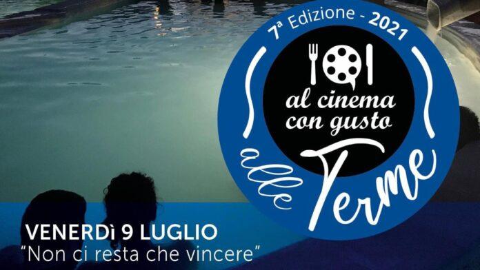 Terme Antica Querciolaia, domani la prima serata del cinema a bordo piscina