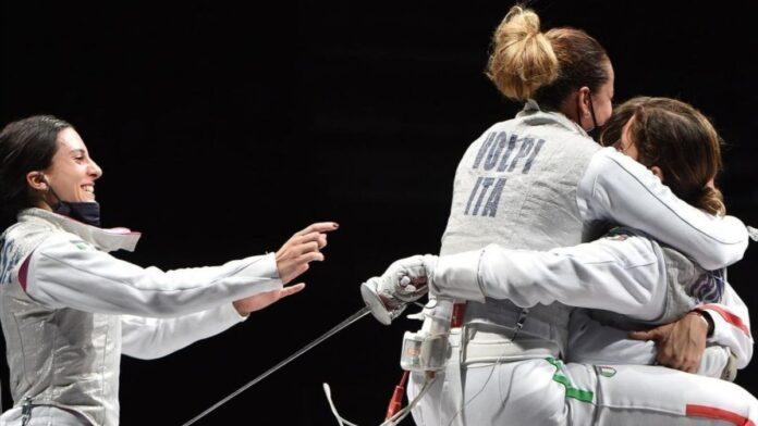 Olimpiadi di Tokyo: Alice Volpi bronzo nel fioretto femminile a squadre
