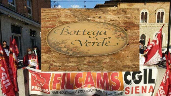 Bottega Verde, chiude il primo storico negozio di Pienza. FILCAMS CGIL pronta allo sciopero