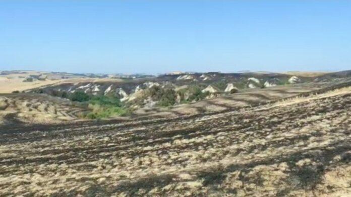 Domato l'incendio ad Asciano: è stato di natura colposa