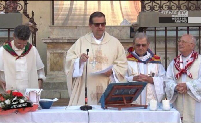 Siena: 2 luglio messa alla Cappella di Piazza del Campo con i fantini, priori e capitani