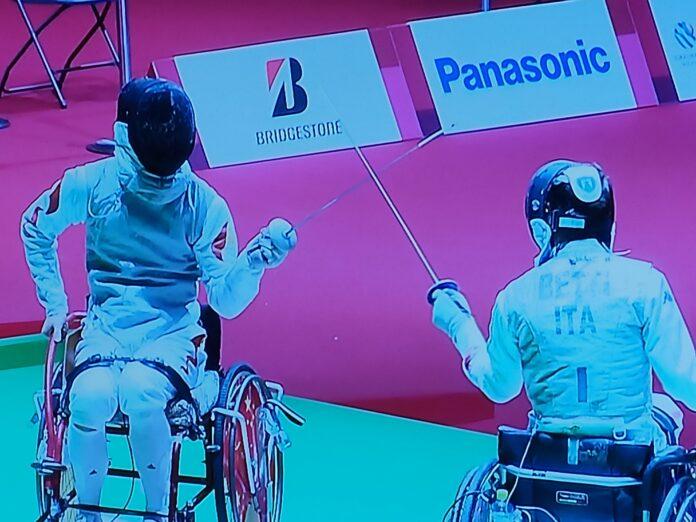 Paralimpiadi scherma: Matteo Betti sconfitto in semifinale