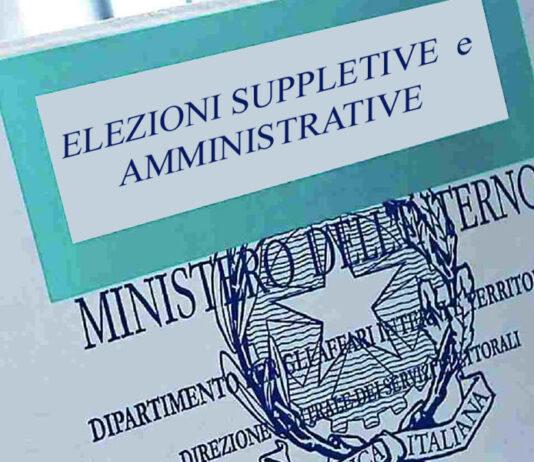 Elezioni - suppletive e amministrative 2021