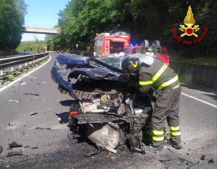 Incidente sulla Siena-Firenze, traffico bloccato
