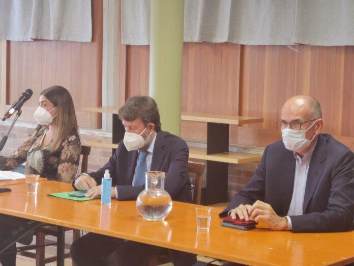 """Cultura, il ministro Dario Franceschini a Siena visita il Santa Maria della Scala: """"Progetto enorme"""""""