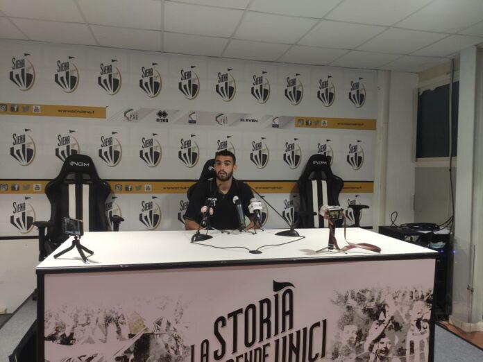 """Siena-Carrarese, Acquadro: """"Mi sono allenato sul tiro dalla distanza, oggi è andata bene"""""""