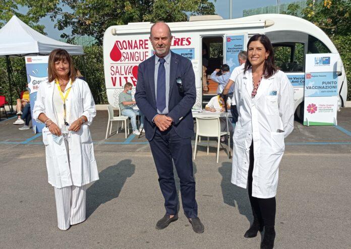 Camper vaccinale Asl Toscana sud est e mondo del lavoro: il programma in provincia di Siena