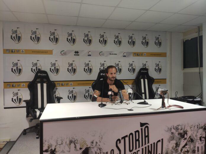 """Siena-Carrarese, Gilardino: """"Grande prova di tutti, ci godiamo il momento"""""""