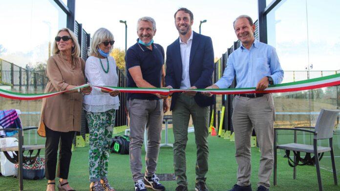 Padel, inaugurati i nuovi campi all'interno dello Sporting Club Valdelsa