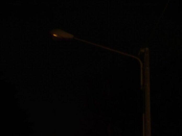Siena: Viale Vittorio Veneto al buio da giorni, rischio incidenti