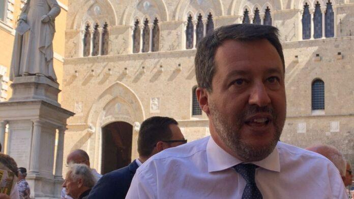 """Suppletive, Salvini a Chianciano Terme: """"Mps non si tocca. La sinistra ha preso il collegio di Siena per un bancomat"""""""