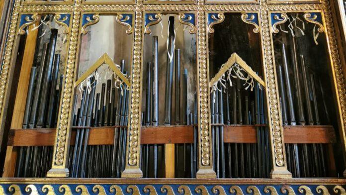 Siena: Museo Civico, intervento di manutenzione e restauro sull'organo di Palazzo Pubblico