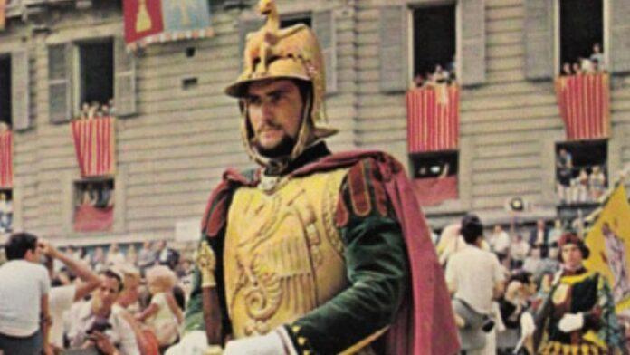 Contrada del Drago in lutto per la morte di Antonio Trifone, storico economo