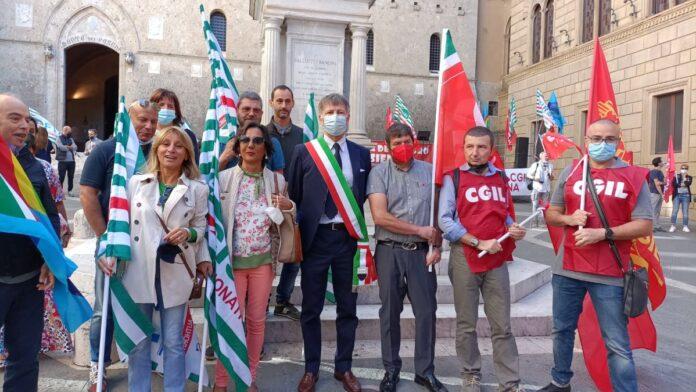 """L'associazione Pietra Serena: """"Pochi partecipanti alla manifestazione sul futuro di Mps"""""""