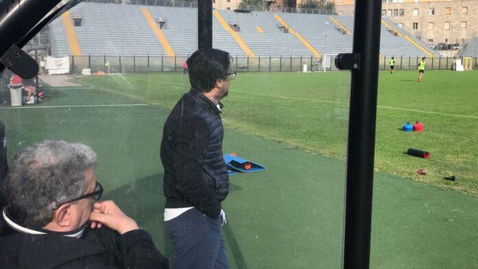 Siena, training at the Franchi under the eyes of President Gazaryan