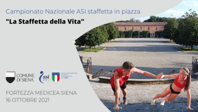 """Sabato a Siena la Finale Nazionale della """"Staffetta della Vita"""""""